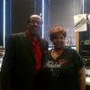 H. Metcalf with Cassis Mack Program Director KGGR Dallas Texas